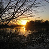 Description - Sunset Over Marsh <b>Title - Religious Sunset</b> <i>- David Lee</i>