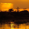Description - Sunset Over Marsh <b>Title - Sunset 1</b> <i>- Joan Funk</i>