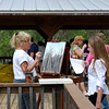 Cypress tree painter and Hali Klopman <b>March 17, 2013</b> <i>- Kay Larche</i>