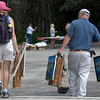 Description - Plein Air Artists on Everglades Day <b>Title - A Long Day</b> <i>- Adrienne Bergen</i>