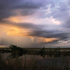Description - Storm Clouds Over the Marsh  <b>Title - Stormy Sky</b> Honorable Mention <i>- Leslie Gelman</i>