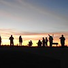 Photographers at Sunset