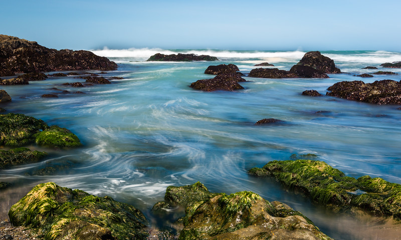 Tide Pools in Constant Motion