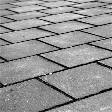 Day 03  The funny thing is that the tiles of this pavement are all squares.