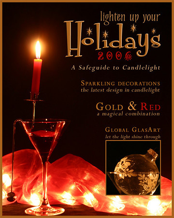 Gold & Red  Silver in Bonus: Holiday Magazine Cover (decorating)  2006