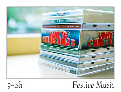 First hour of Christmas   Who needs cd's when the radio is playing Festive Music all day long.