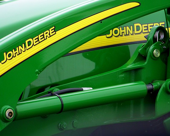 """John Deere Green""<br /> The first and only thing to come to mind."