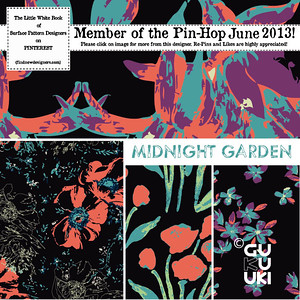 PIN-HOP Midnight Garden