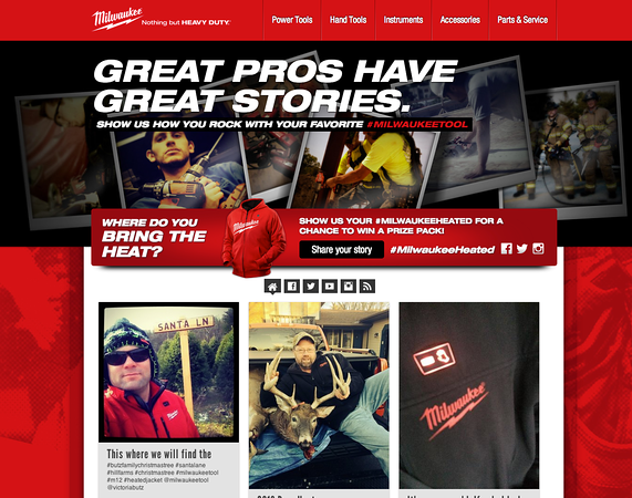 Milwaukee Tool Product Testimonial Contest