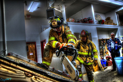 Breaching and Ventalation Drill, 3-4-14
