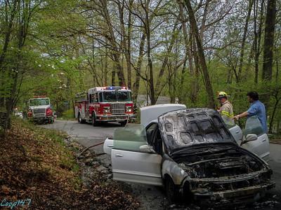Car Fire, Jack Road  5-10-14