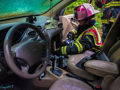 Car Fire, Route 9, 5-12-14