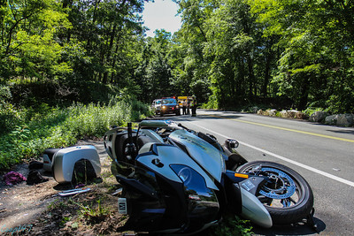 Motorcycle Accident, Bear Mt. Bridge RD. 6-21-14
