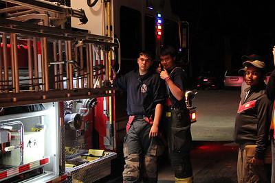 Boy Scouts fire Prevention