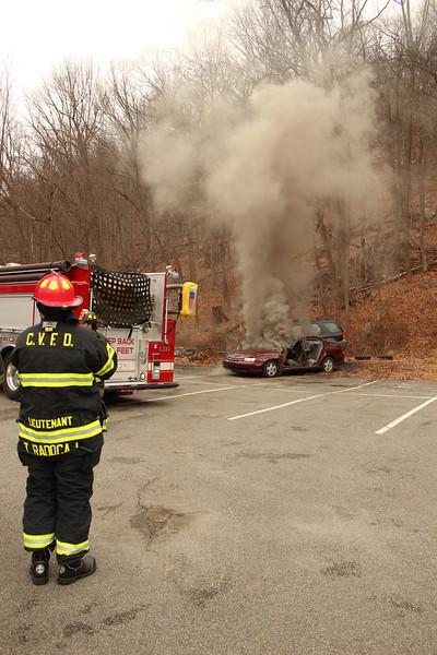 Car Fire Drill, CVFD Firehouse