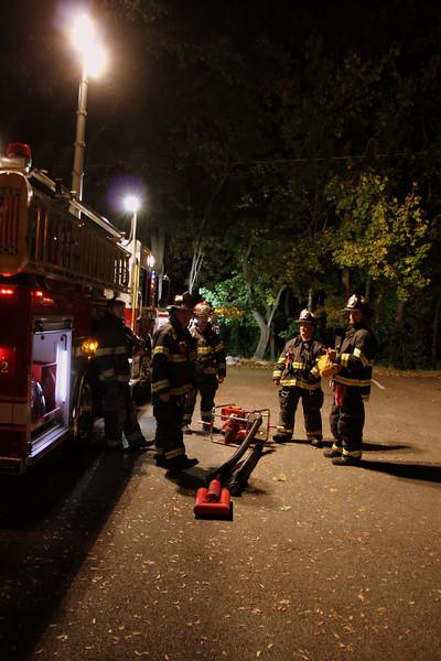 Live Burn/Pump Ops, CVFD Firehouse