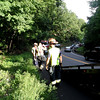 Motorcycle acident, Bear Mt. Bridge Road
