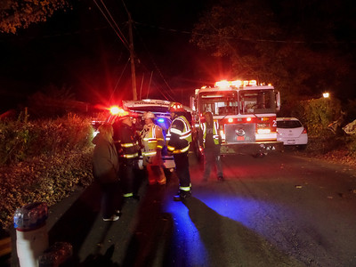 Mutual Aid Structure Fire, Putnam Valley
