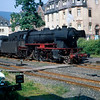 DB 2-6-0 Class 23 no.23-024 at Traben-Trarbach in August 1967.