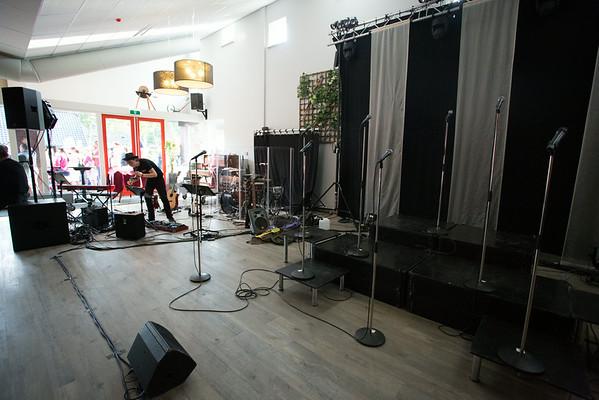 Scandinavië 2014 Concert 14 aug. De Kleine Belties