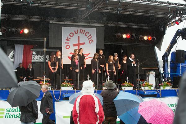 Scandinavie 2014 concert 17 aug Open air Plensburg