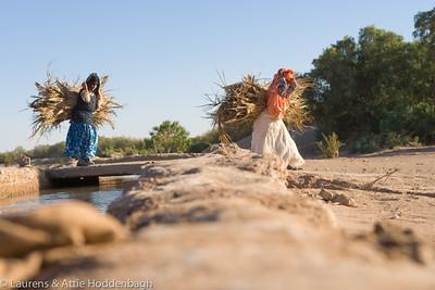 Women carrying wood at Tissinnt at N20