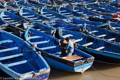 Boats Essaouira