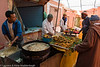 Fried fish at souk Tafraoute