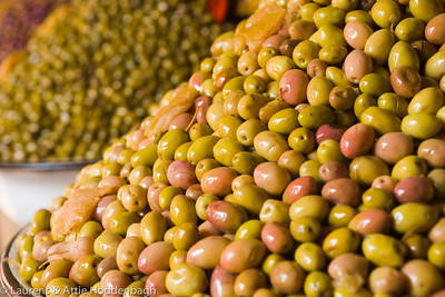 Olives at Souk at Agadir