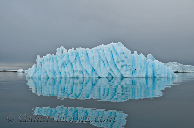 Iceberg and reflection