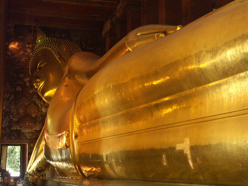 Bangkok, Thailand: The Reclining Budha