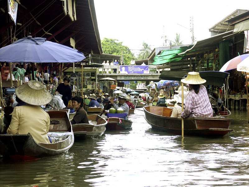 Bangkok, Thailand: The Floating Market