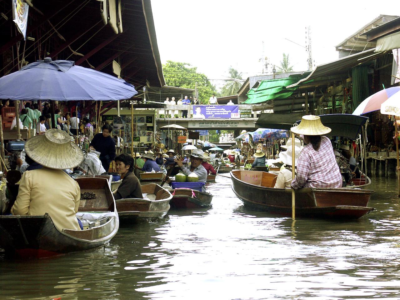 Bangkok, Thailand: The Floating Market