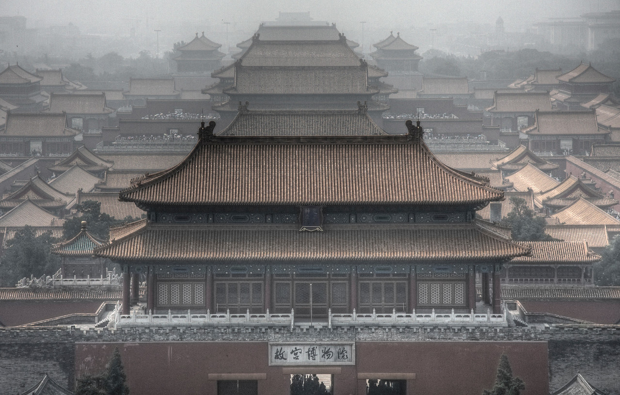The Forbidden City of Beijing, China (HDR)