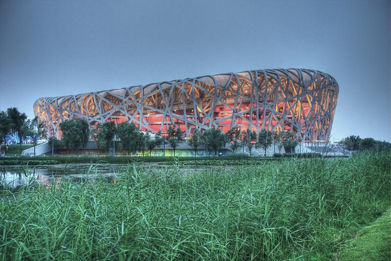 Beijing Olympic Stadium.