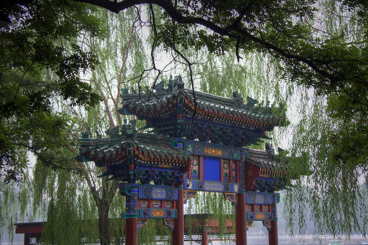 Chinese Gate. Tiantan Park, Beijing, China.
