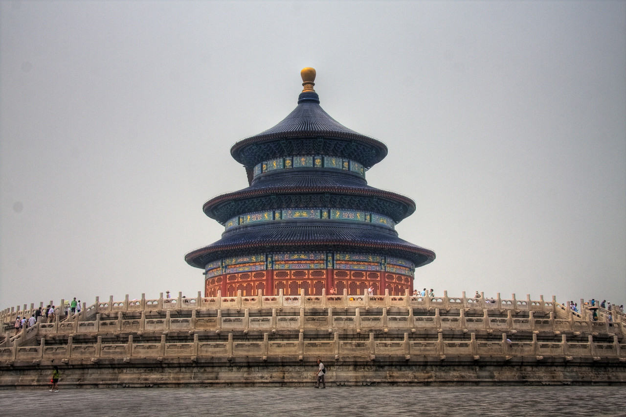 The Temple of Heaven. Beijing, China.