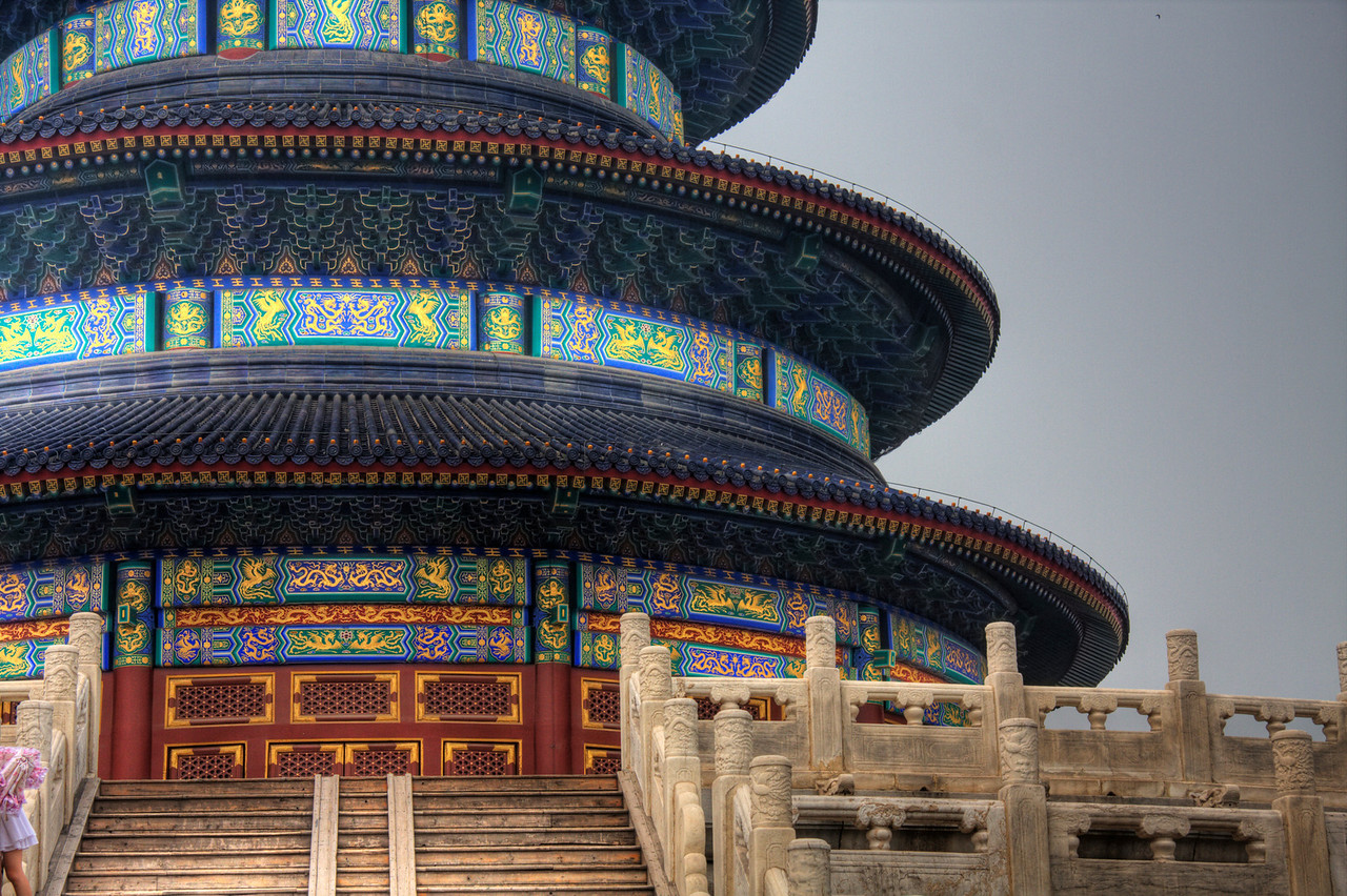 The Temple of Heaven, Beijing, China (HDR).