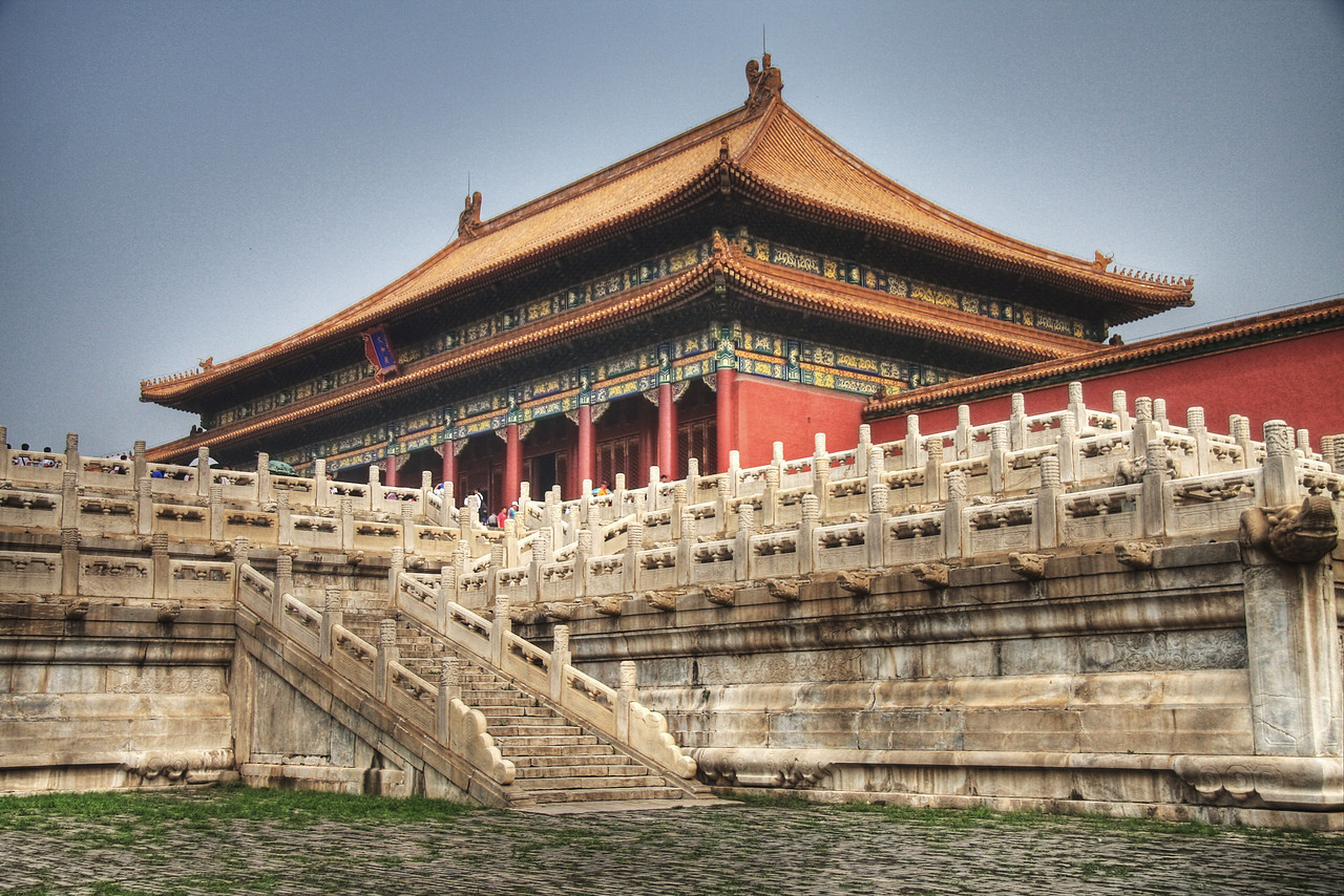 The Forbidden City, Beijing, China (HDR)