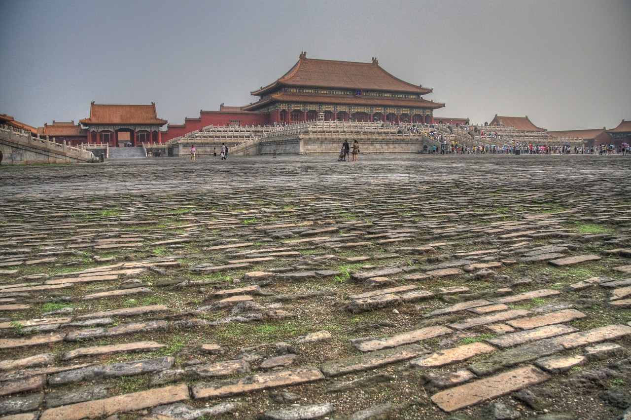 The Forbidden City, Beijing, China. (HDR)