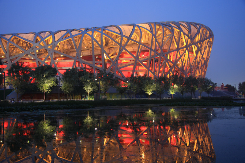 The Beijing Olympic Stadium (The Bird's Nest), Beijing, China