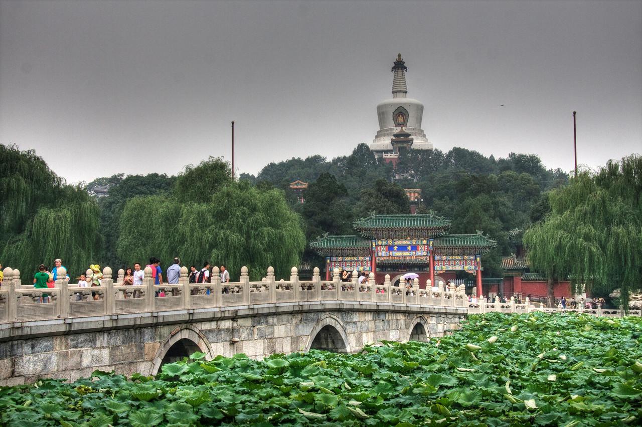 Tian' tan Park, Beijing, China.