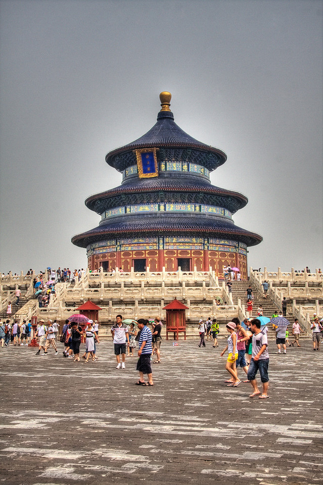 The Temple of Heaven Park, Beijing, China.