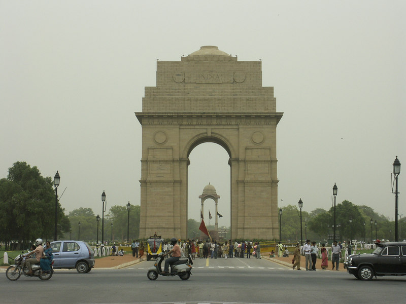 Delhi, India: The Gate of India