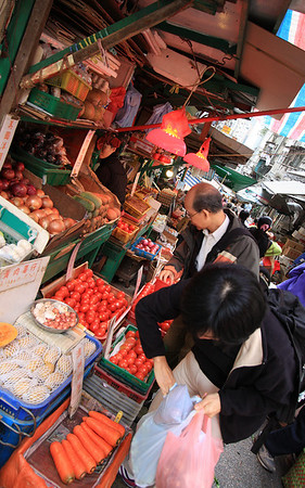 The Wet Markets, Hong Kong, China