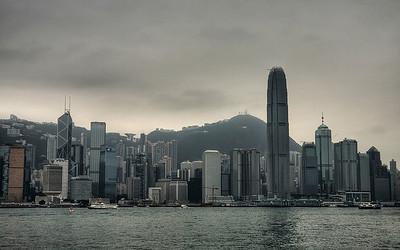 Glass & Steel: Hong Kong, China (HDR Image)