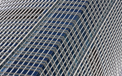 Glass & Steel: IFC 2, Hong Kong, China