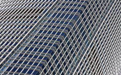 Glass & Steel: IFC 2, Hong Kong, China