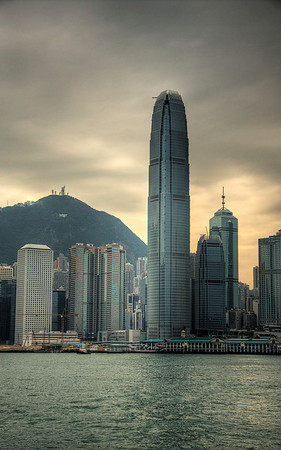 Beacon: IFC 2 in Hong Kong, China (HDR Image)
