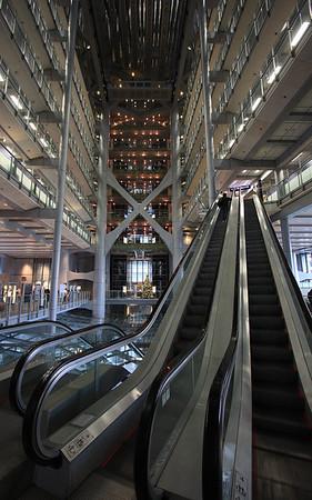 Stairway to (Banking) Heaven, HSBC Building, Hong Kong, China